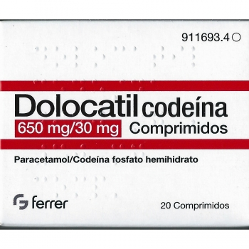 Dolocatil codeina 650/30 mg