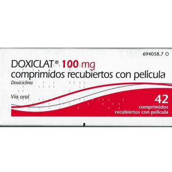 Doxiclat 100 mg Doxycyclin