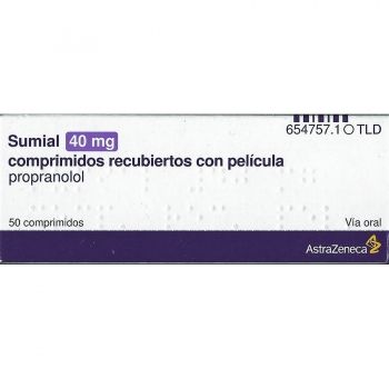 Sumial 40 mg Propranolol