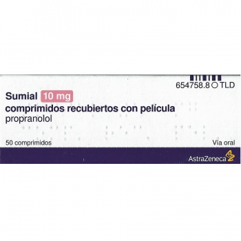 Sumial 10 mg Propranolol
