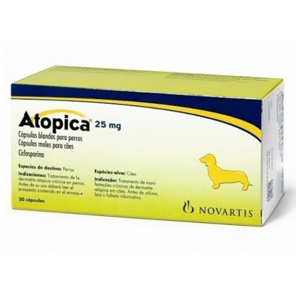 Atopica 25mg for dogs