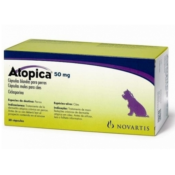 Atopica 50mg for dogs